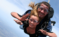 Tandem Skydiving in Los Angeles