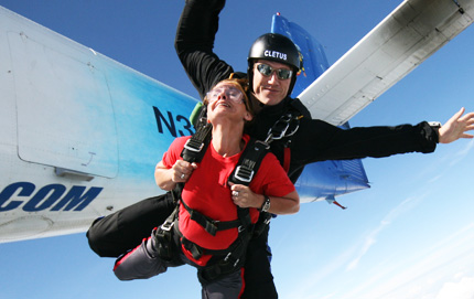 Los Angeles Tandem Skydiving