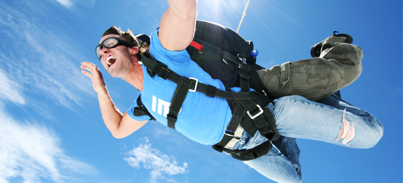 Los Angeles Skydiving Tandem Gift Certificates